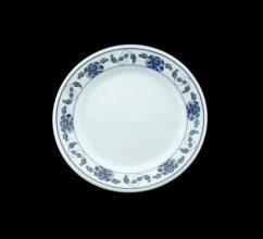 MB1007 – 7″ BLUE MELAMINE ROUND PLATE
