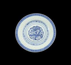 RPB9 – 9″ ROUND PLATE BLUE