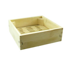 SBBS6 – 6″  SQUARE BAMBOO STEAMER
