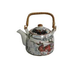 TPW – WARRIOR BATTLE DESIGN TEA POT