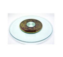 WJ103-70 – 70cm GLASS + B&G DRAGON & PHEONIX TURNER