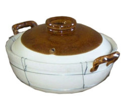 S05 – 32cm 2 HANDLED CLAY POT [WIRED]